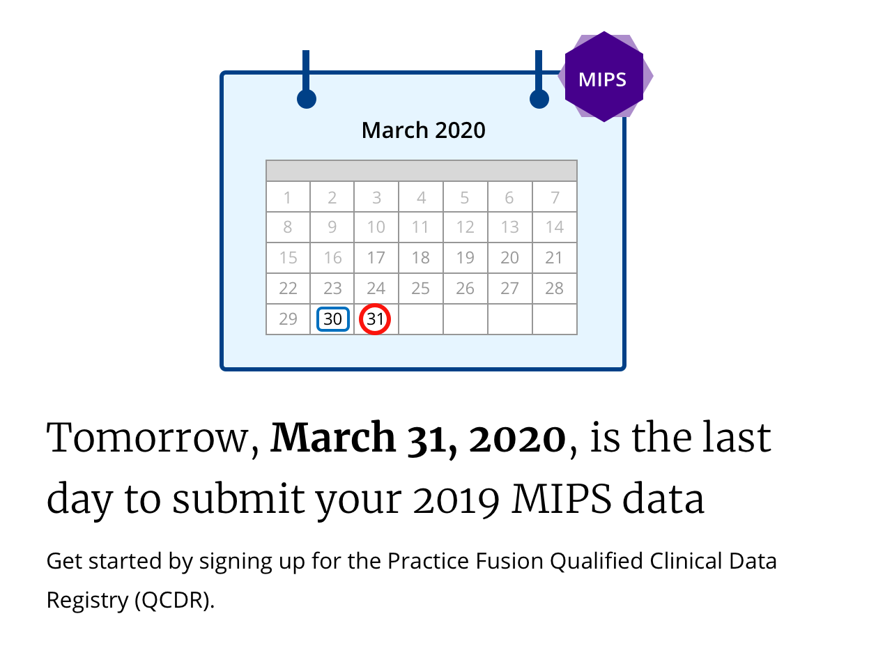 2019 MIPS Data Submission