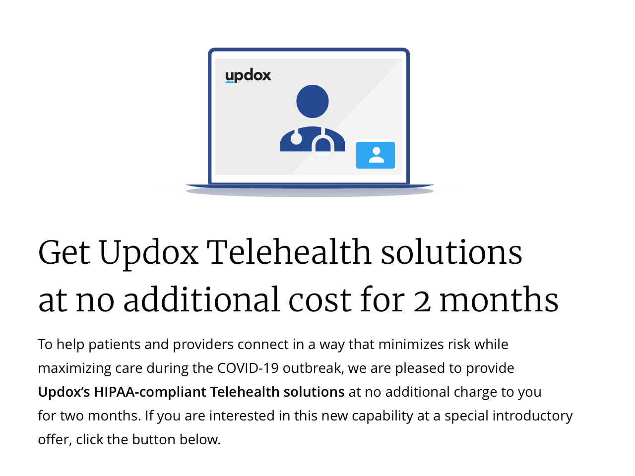 Updox Telehealth Solutions