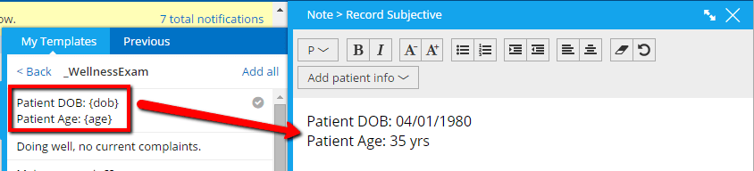 Save 30 Clicks Per Patient With Template Macros Practice Fusion