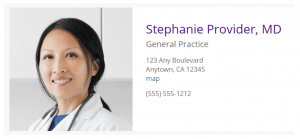 Doctor Online Profile