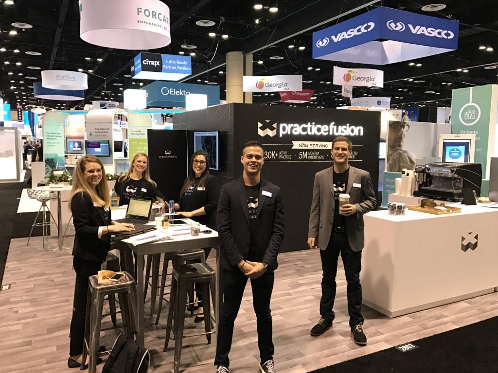 Practice Fusion HIMSS Booth